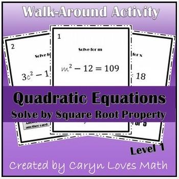Solving Quadratic Equations using Square Root Method