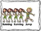 Walk, Running, and Jump Rhythm Cards {Freebie}