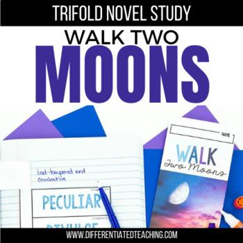 Walk Two Moons Novel Study Trifolds