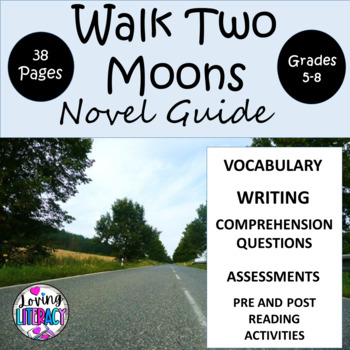 Walk Two Moons 38 Page Novel Guide