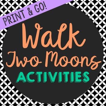 Walk Two Moons Novel Unit Study Activities, Worksheets, Bo