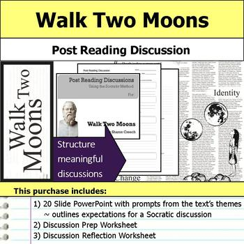 Walk Two Moons - Socratic Method - Post Reading Discussions