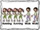 Walk and Running Rhythm Cards {Freebie}