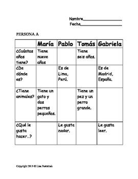 Walk and Talk Interview in Spanish! Personal Description