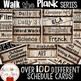 Walk the Plank Series - Wooden Pirate Class Schedule Cards