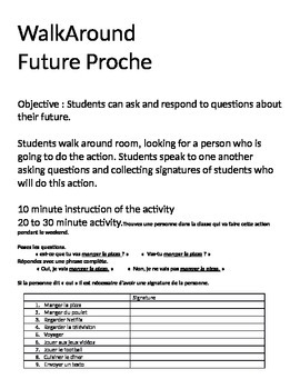 WalkAround - Future Proche