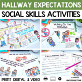 Walking In the Hallways (A Social Story About Appropriate