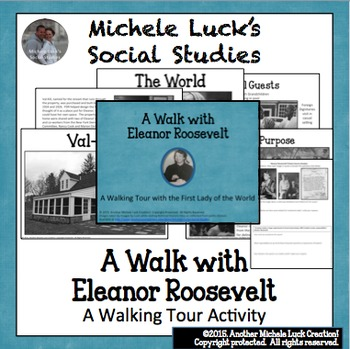 Walking Tour with Eleanor Roosevelt U.S. History Centers A