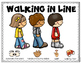 Walking in Line Emergent Reader and Visuals