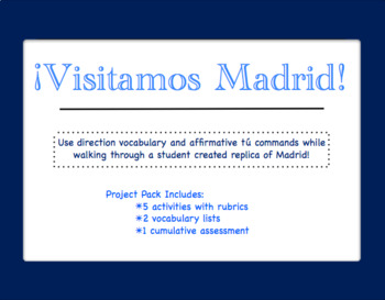 Directions Project: A Walk through Madrid