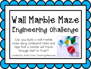 Wall Marble Maze: Engineering Challenge Project ~ Great ST