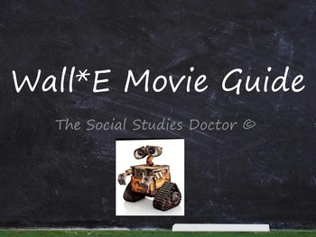 Wall*E Movie Questions
