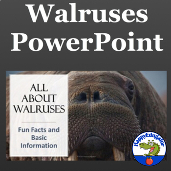 Walruses - All About Walruses PowerPoint