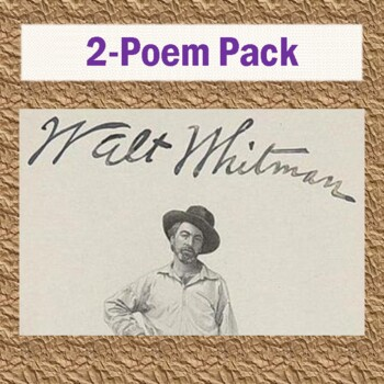 Walt Whitman's 2-Poem Pack: 2 Poems, 2 Reading Questions,