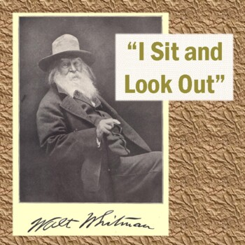 "Walt Whitman's ""I Sit and Look Out"": Poem, Reading Questio"