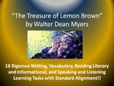 """Walter Dean Myers's """"The Treasure of Lemon Brown"""" – 16 Com"""