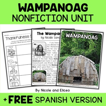 Nonfiction Wampanoag Unit Activities