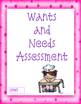 Wants and Needs Assessment - SS1E1