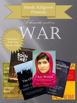 War: A Thematic Unit with lesson plans, novel packets, and