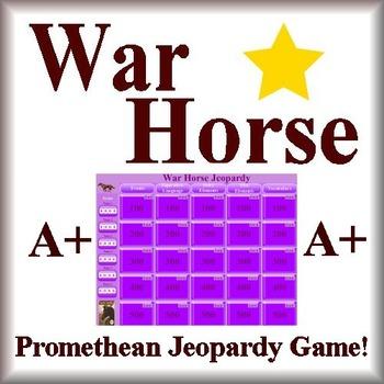 War Horse Jeopardy Game Promethean