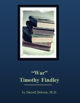 War by Timothy Findley Short Story