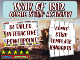 War of 1812 - Highly Visual PPT and Comic Strip Activity