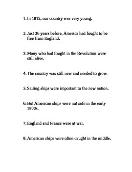 War of 1812 Round Robin Read