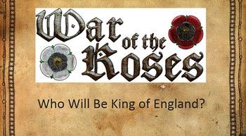 War of the Roses - English History Simulation
