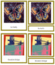 Warhol (Andy) 3-Part Art Cards - Color Borders