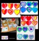 Valentine's Day Art Lesson - Pop Art Hearts - Warm and Coo