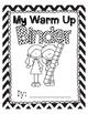 Warm Up Binders - Math & ELA