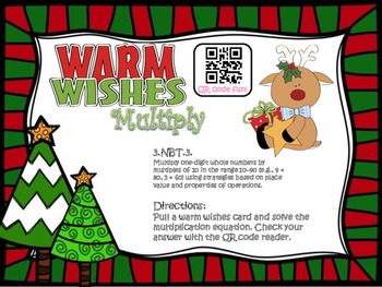 Warm Wishes (Multiplying by multiples of Ten)