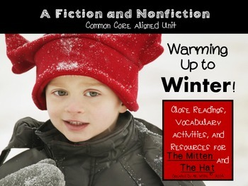 Warming Up to Winter! {Resources for The Mitten and The Hat}