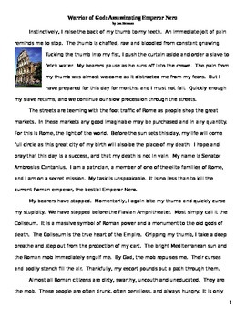 Caesar Nero Persecution of Christianity Historical Fiction