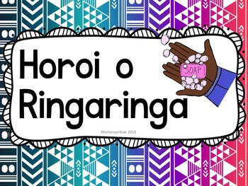 Wash your hands poster in Te Reo Maori