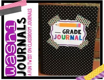 Washi Journals