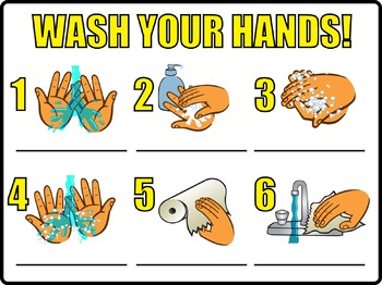 Agile image regarding free printable hand washing posters