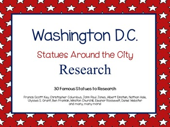 Washington D.C. ~  Statues Around the City