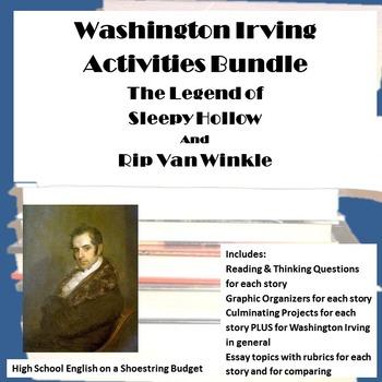 Washington Irving Bundle: The Legend of Sleepy Hollow and