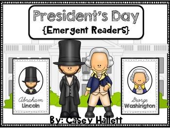 Washington & Lincoln Emergent Readers
