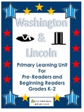 Washington-Lincoln Primary Social Studies Unit Worksheets