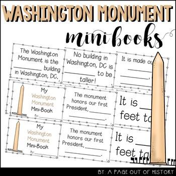 Washington Monument Mini-Books