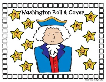 Washington Roll & Cover- FREEBIE!