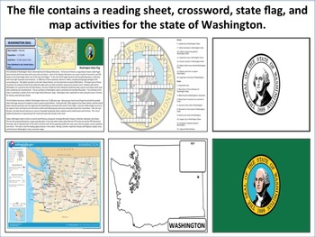 Washington - State Activity Set