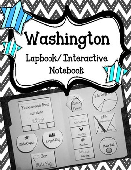 Washington State Lapbook. Interactive Notebook. US History