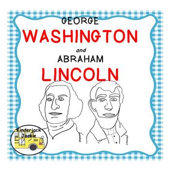 Washington and Lincoln Cut-n-Paste