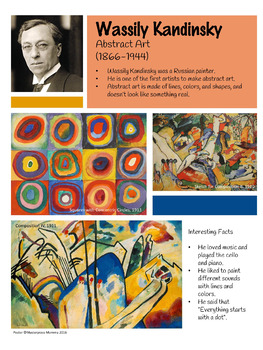 Wassily Kandinsky Artist Poster by Masterpiece Momma