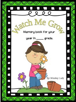 Watch Me Grow Memory Book