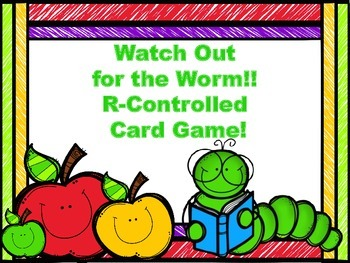 Watch Out for the Worm!: R-Controlled Game!