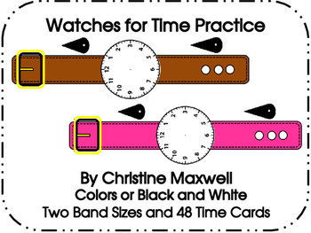Watches for Time Practice